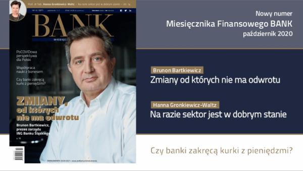 """""""Miesięcznik Finansowy BANK"""" – październik 2020"""