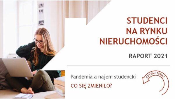 Najem w czasach pandemii wyraźnie mniej popularny wśród studentów